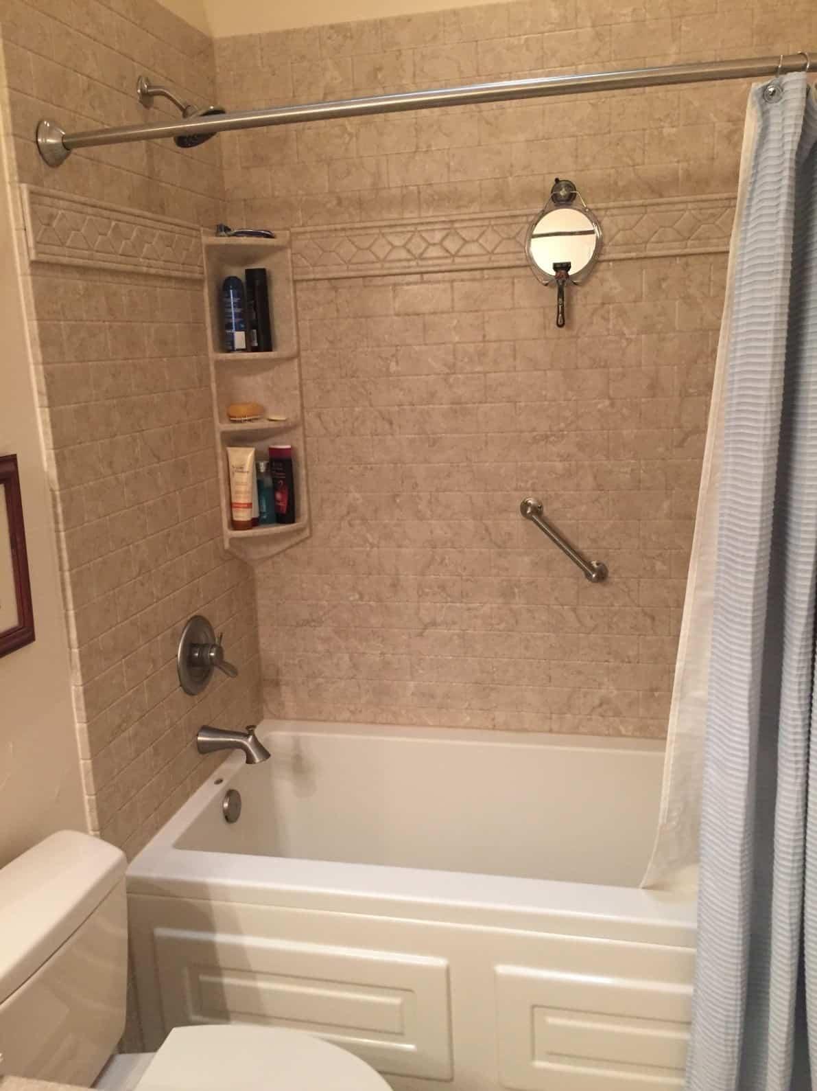 bathtub remodeling - after 2