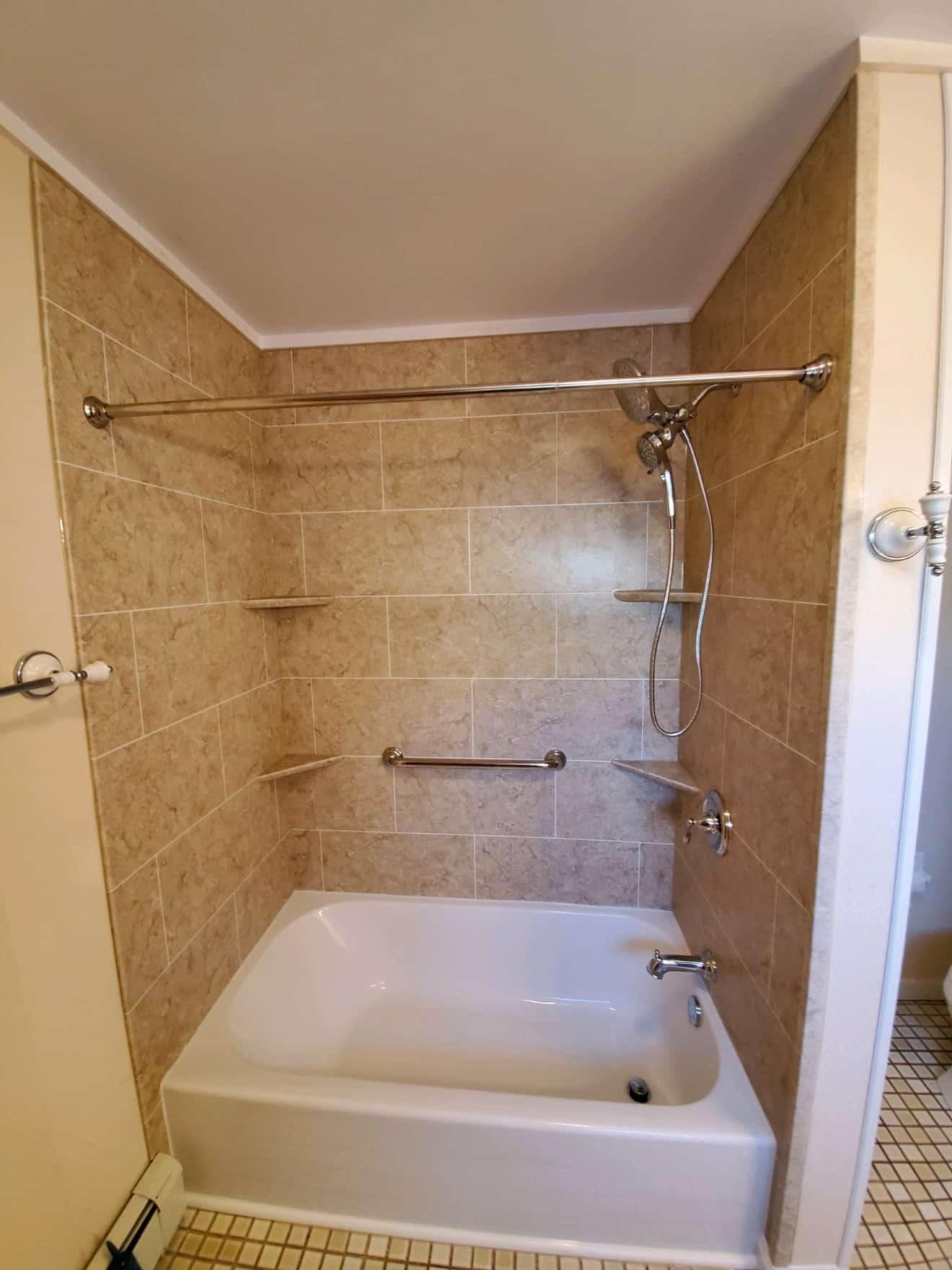 bathtub remodeling - after 1