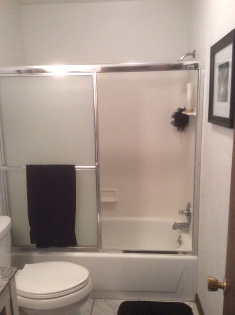 Tub to shower conversion - before 5