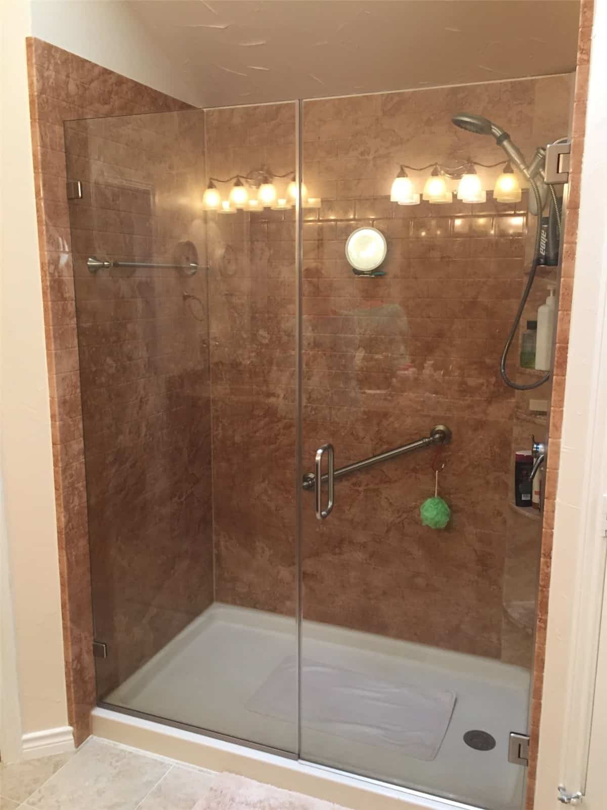 One Day Shower Remodeling (after) New Jersey Bathroom Pros