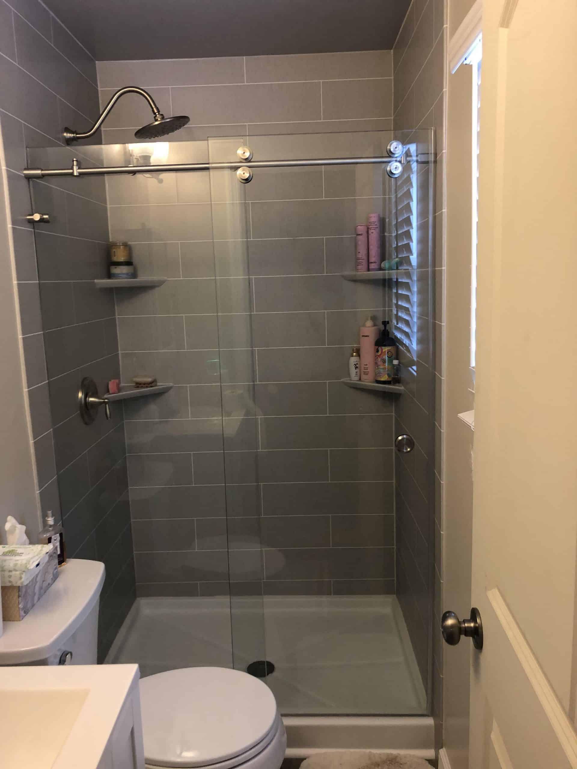 One Day Shower Remodeling (after) Toms River, Nj Bathroom Pros