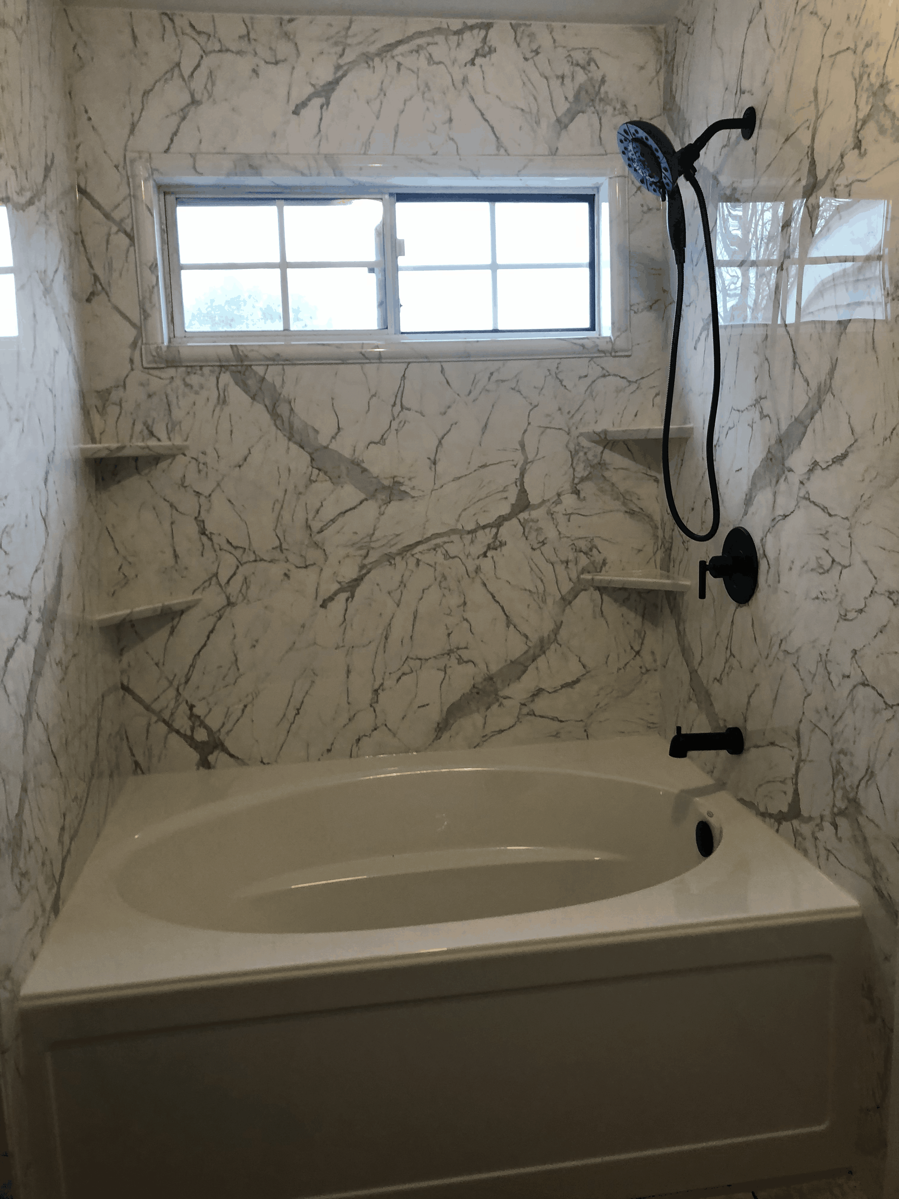 bathtub replacement after