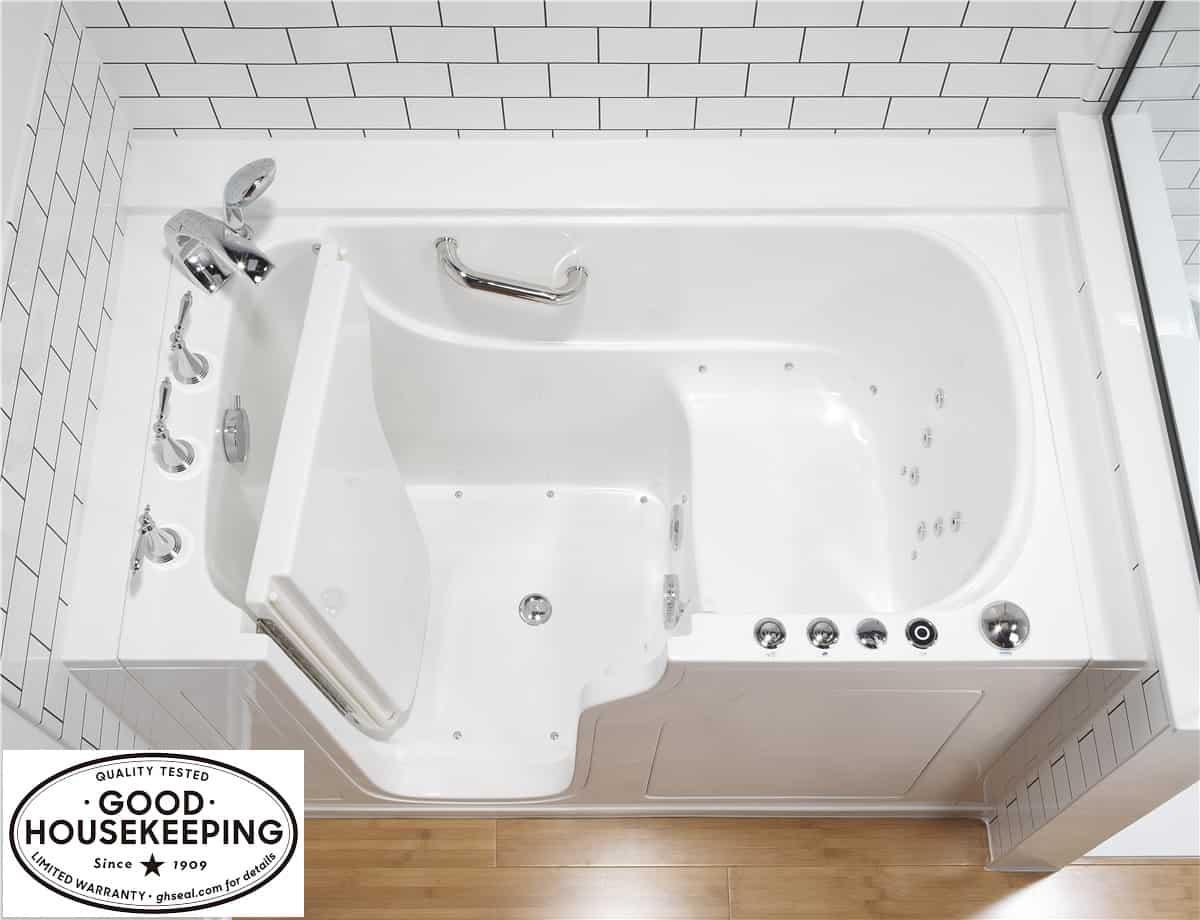 USA crafted walk in bath tub